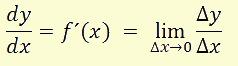 derivada diferenciales