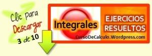 Ejercicios resueltos de integral 3